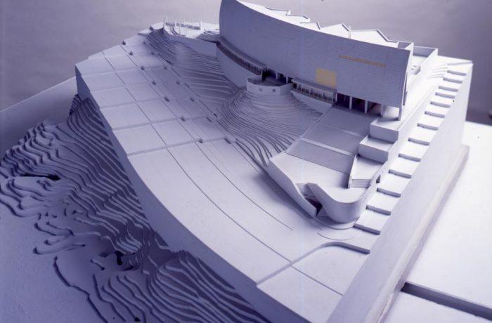 3階磯崎新建築展示室